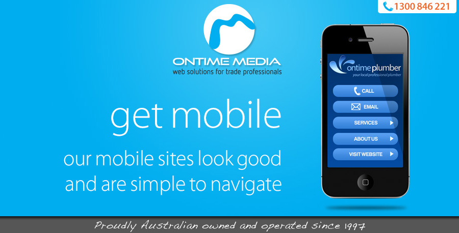 Mobile sites for tradies